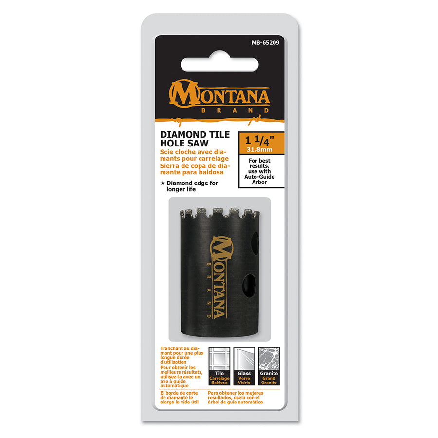 Montana Brand 1 1/4 inch Diamond Hold Saw