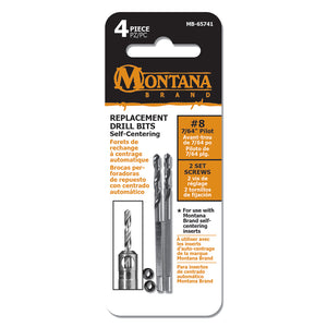 #8 Replacement Self-Centering Drill Bits