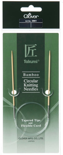 Clover Bamboo Cirkular Knitting Needles