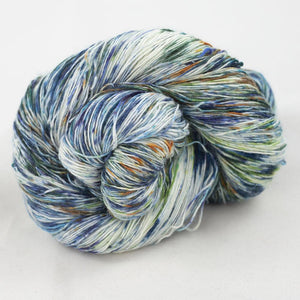 Merino single lace gradient, Cowgirlblues