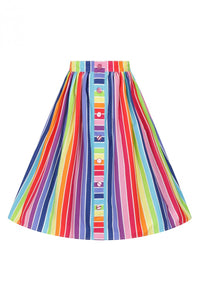 Over the Rainbow skirt