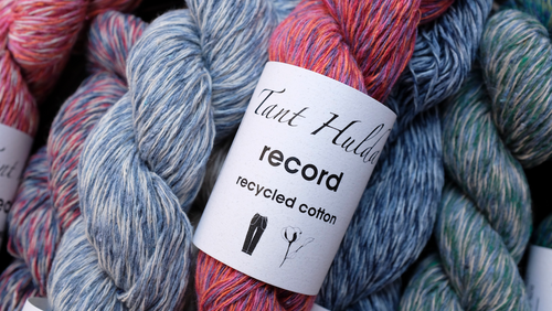 record recycled cotton