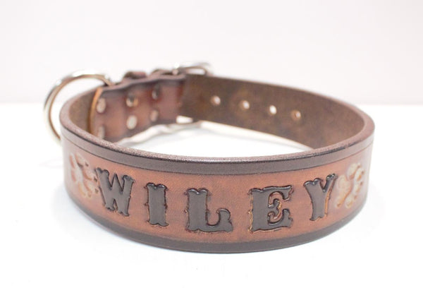 Your own custom dog collar