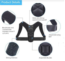 Load image into Gallery viewer, betterback posture corrector specs