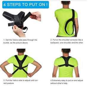 betterback posture corrector how to use
