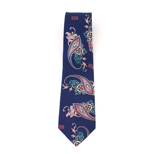 Blue Gangster BLU Silk Tie