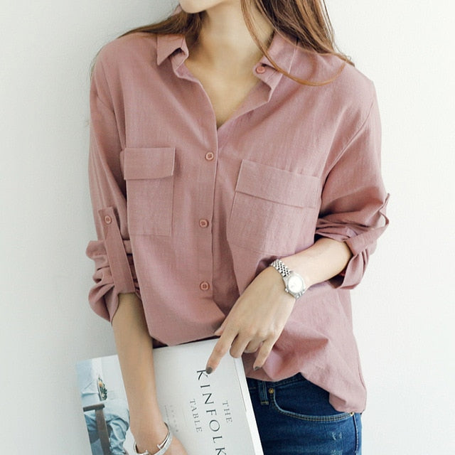 Let Loose Office Blouse