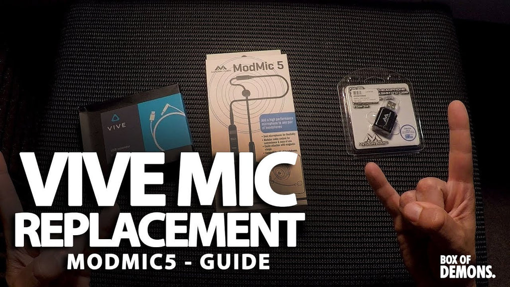 How to Improve your VR Mic!
