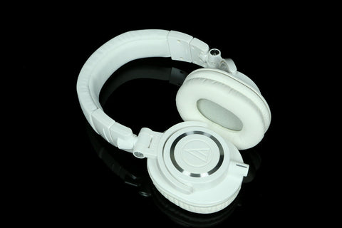 Audio Technica m50x White