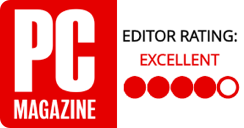 PC Magazine - Editor Rating: Excellent