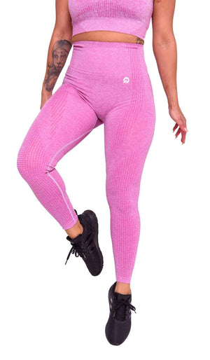 Americano Seamless Booty Leggings in Pink | ThiqActive