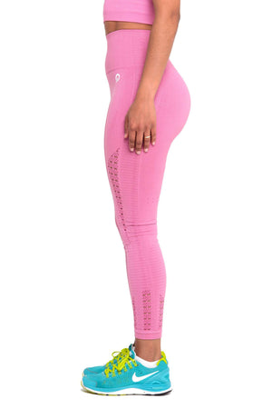 They look so good Performance Seamless Booty Leggings in Pink | ThiqActive