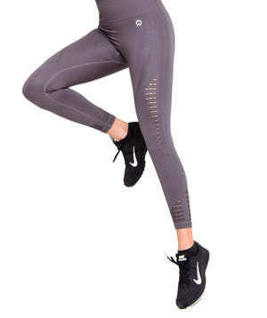 Easy workouts with Performance Seamless Booty Leggings Brown | ThiqActive