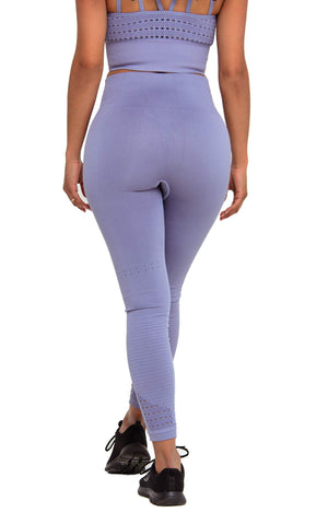 Activewear - Performance Seamless Leggings - Grey - THIQ