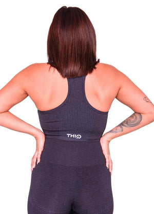 Americano Activewear Sports Bra Black | ThiqActive