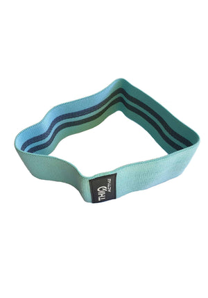 Premium Green Booty Band- Light resistance band - 76cm diameter  | ThiqActive