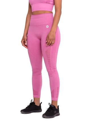 Perfect fit Performance Seamless Booty Leggings in Pink | ThiqActive