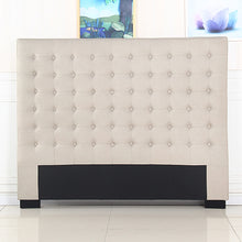 Load image into Gallery viewer, Cilantro King Beige Headboard