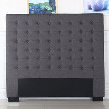 Load image into Gallery viewer, Cilantro King Charcoal Headboard