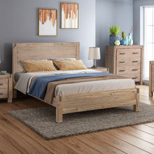 Load image into Gallery viewer, Java Bedframe Queen Size Oak