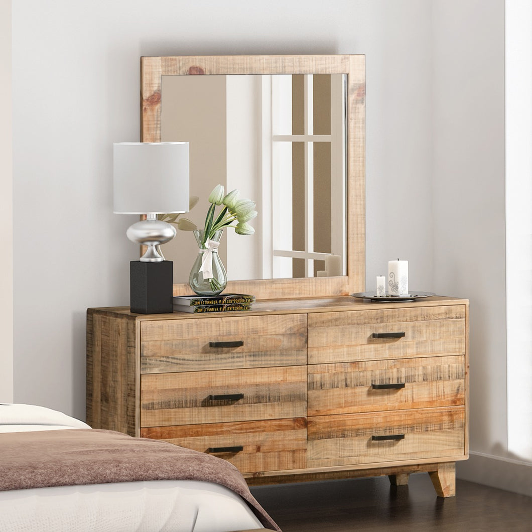 Woodstyle Dresser 6 Drawers