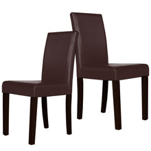 Load image into Gallery viewer, Montina Wooden Dining Chairs Brown 2x