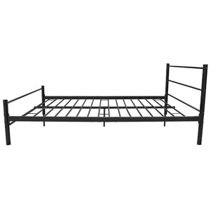 Coombe Bed Frame Black Metal Double Size