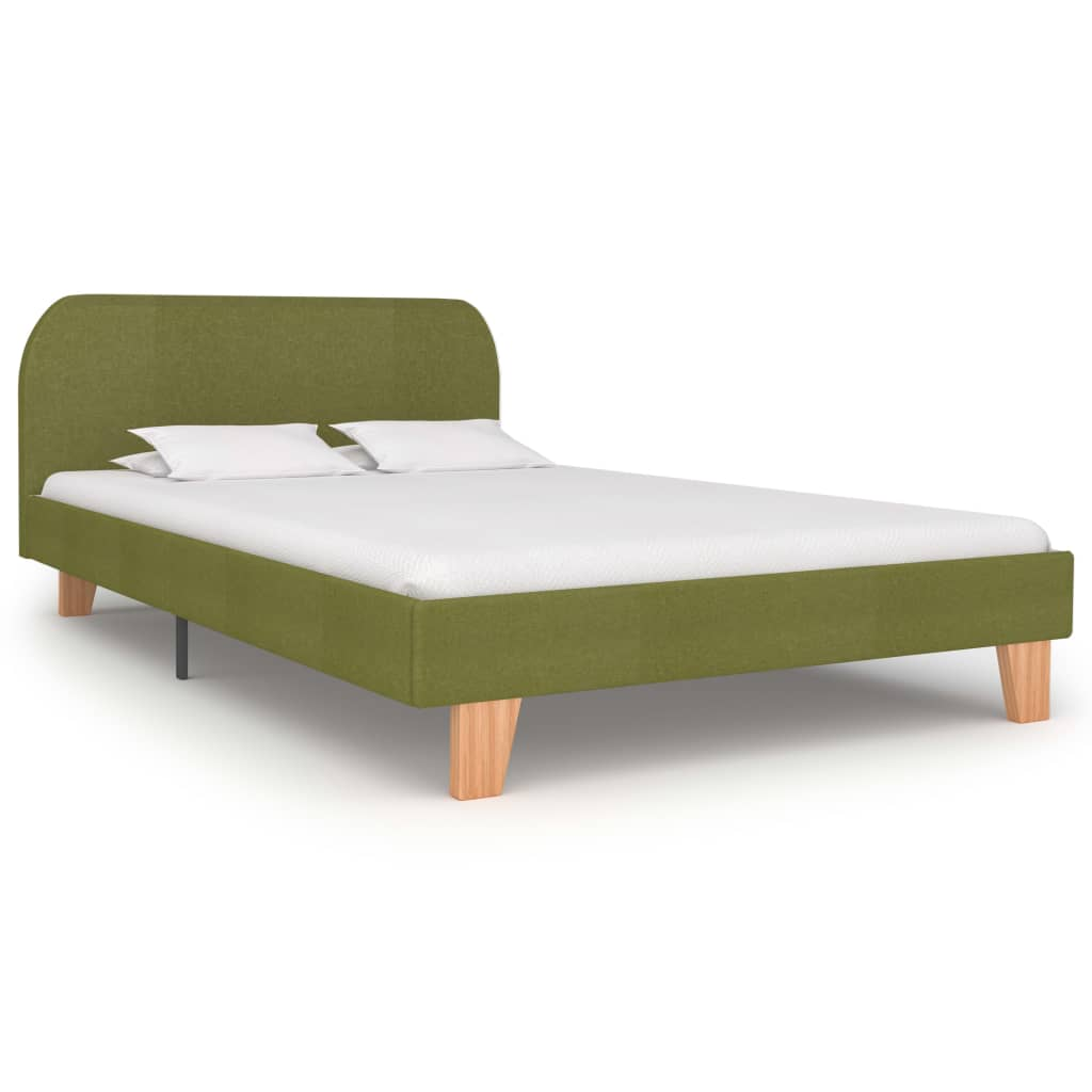 Tess Bed Frame Green Fabric King