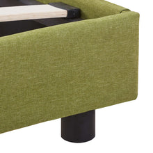Load image into Gallery viewer, Marks Bed Frame Green Fabric King Single