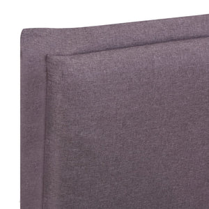 Marks Bed Frame Taupe Fabric King
