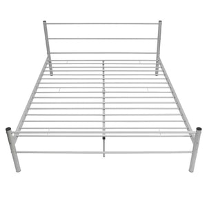 Coombe Grey Bed Frame with Memory Foam Mattress King Size