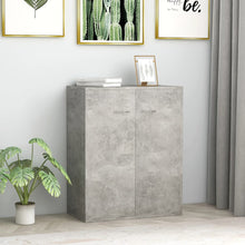 Load image into Gallery viewer, Sideboard Concrete Grey 60x30x75 cm Chipboard