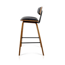 Load image into Gallery viewer, Artiss Set of 2 PU Leather Bar Stools - Black