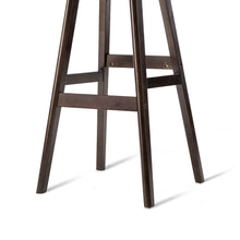 Load image into Gallery viewer, Artiss Set of 2 PU Leather and Wood Bar Stool - Black
