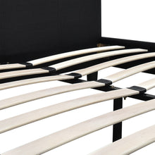 Load image into Gallery viewer, Queen Size Fabric Bed Frame - Charcoal