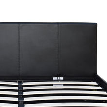 Load image into Gallery viewer, Artiss Double Size PU Leather and Wood Bed Frame Headborad - Black