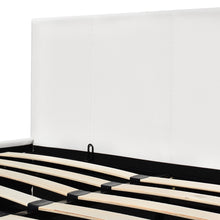 Load image into Gallery viewer, Artiss Double Size PU Leather and Wood Bed Frame Headborad -White