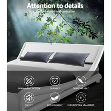 Load image into Gallery viewer, Artiss Queen Size PU Leather Bed Frame - White