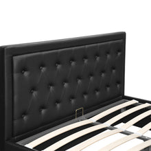 Load image into Gallery viewer, Artiss Tiyo Gas Lift Bed Frame - Queen