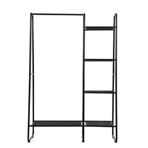 Portable Clothes Rack Garment Hanging Stand Closet Storage Organiser Shelf Home