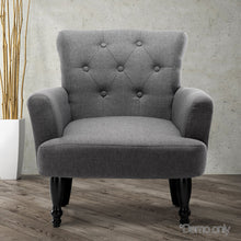 Load image into Gallery viewer, Artiss French Lorraine Chair Retro Wing - Grey