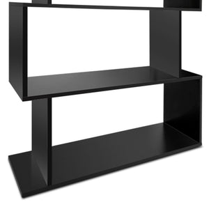 Artiss 6 Tier Display Shelf - Black