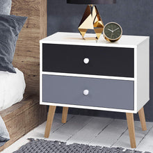 Load image into Gallery viewer, Artiss Bedside Tables Drawers Side Table Nightstand Lamp Side Storage Cabinet