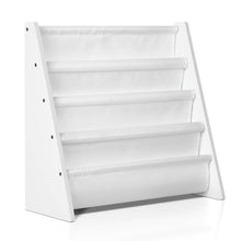 Load image into Gallery viewer, Artiss Kids Bookshelf - White