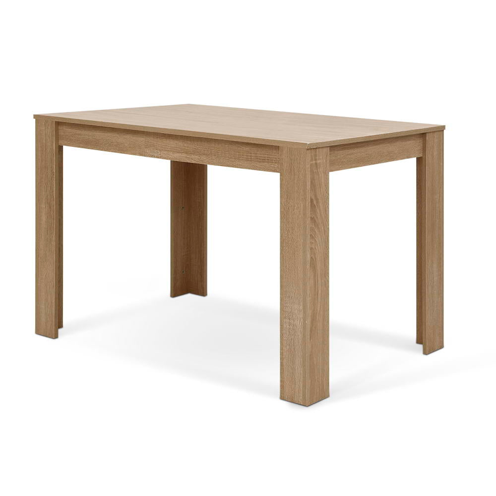 Artiss Wooden Dining Table NATU 120cm 4 Seater Kitchen Rectangular Modern Oak