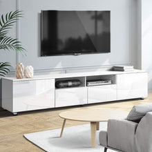 Load image into Gallery viewer, Artiss TV Cabinet Entertainment Unit Stand High Gloss Furniture 205cm White