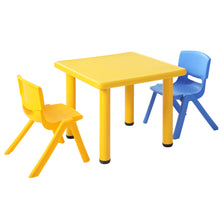Load image into Gallery viewer, Keezi Kids Table Study Desk Children Furniture Plastic Yellow