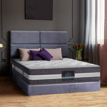 Load image into Gallery viewer, Giselle Bedding King Single Mattress Bed Size 7 Zone Pocket Spring Medium Firm Foam 30cm