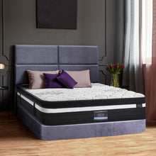 Load image into Gallery viewer, Giselle Bedding Super Firm Mattress Queen Size Bed 7 Zone Pocket Spring Foam 28cm