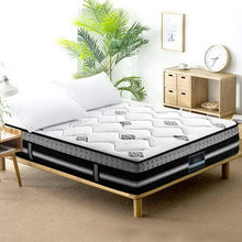 Load image into Gallery viewer, Giselle 35cm King Size Mattress Bed 7 Zone Pocket Spring Cool Gel Foam Medium Firm